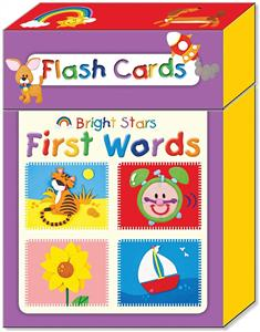 (Bright Stars First Words (Flash Card