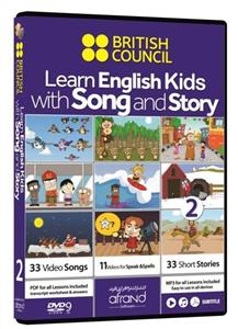 Learn English Kids With Song And Story 2 (دی‌وی‌دی)