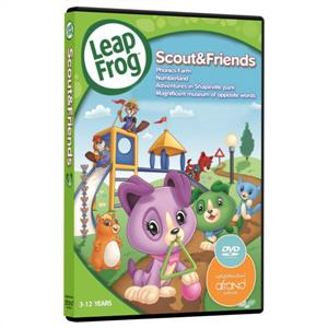 Scout & Friends Leap Frog (دی‌وی‌دی)