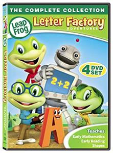 Letter Adventures Factory Leap Frog (دیویدی)