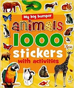 (1000Stickers with Activities (Animals