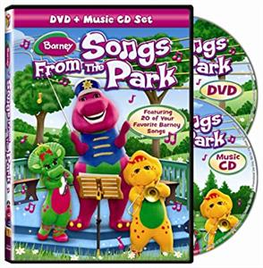 Barney Songs From The Park (دیویدی)