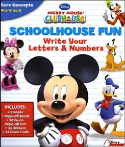 ( Write Your Letters & Numbers (Schoolhouse Fun