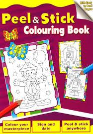 Butterfly - Peel & Stick Colouring Book