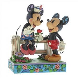 blossoming romance mickey & minnie mouse 6000969