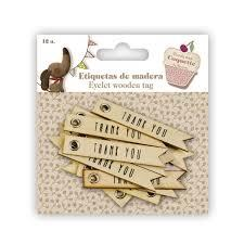 Eyelet Wooden Tags 11076103130
