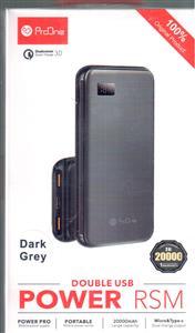 پاور بانک پرووان 20000 فست شارژ مدل PM13