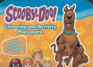 colouring and activity scooby-doo