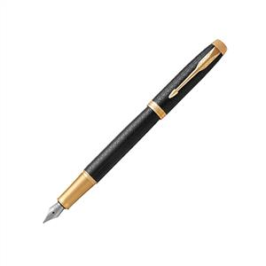 خودنویس مشکی گیره طلا 1931653 IM Premium