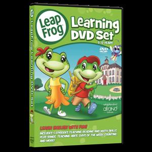 Leap Frog Learning DVD Set (دی‌وی‌دی)
