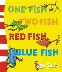 ( One Fish Tow Fish Red Fish (Dr Seuss