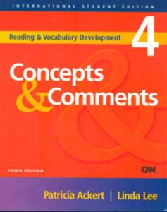 (Concepts and Comments 4 (Reading and Vocabulary Development (با سیدی)