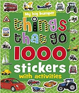 (1000Stickers with Activities (Things That Go