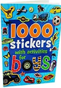 (1000Stickers with Activities (For Boys